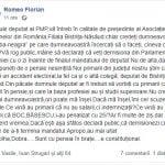 """Un primar din Bistrița-Năsăud îi cere deputatului Ionuț Simionca să demisioneze cu o zi înainte de a i se termina mandatul. """"Sunteți un accident electoral"""""""