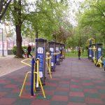 Parc de fitness pentru locuitorii orașului Năsăud. Lucrările vor fi finalizate în curând