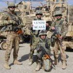 """""""Șoimii Carpaților"""", din nou acasă, după 6 luni petrecute în Afganistan! Primul detașament a ajuns, iar în luna februarie sosesc celelalte detașamente!"""