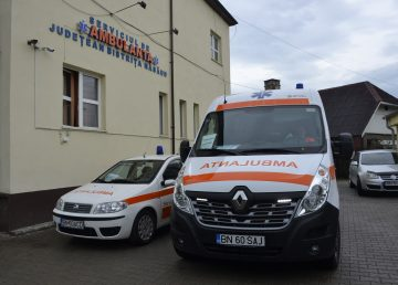 Protest Ambulanță Ziar de Bistrița